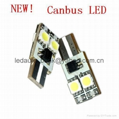 NEW T10-4SMD Wedge Canbus LED