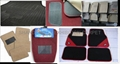 4pc Best Carpet Floor Mats+ color: Gray/Black/Beige/burgundy+Anti-Skid Nib Back