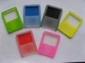 iPod Nano 3th silicone case (double
