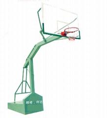 仿液压独柱篮球架