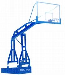 仿液压透明板篮球架