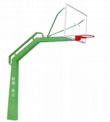 固定式独臂篮球架
