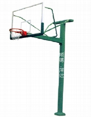 固定式单柱篮球架