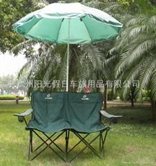 情侶雙人帶傘沙灘椅(另人單人沙灘椅,單人扶手椅等)