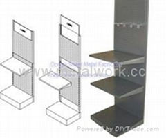stainless steel Showing stand