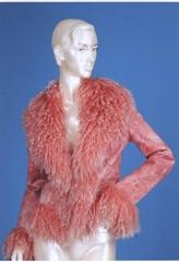 fur lady's garment