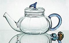 glass tea & coffee pot