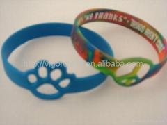个性化异型硅胶手环