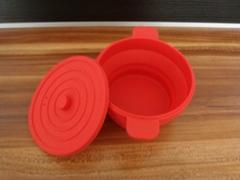 環保型硅膠折疊碗