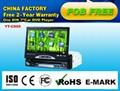 "7""Car DVD player with gps/ipod/divx/tv/usb/sd"