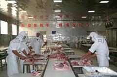 肉食品分割输送线