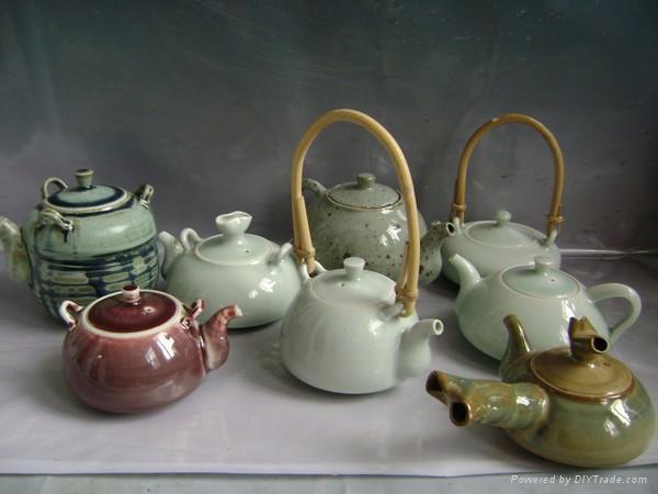 Fine china tea pot coffee set porcelain tableware 1