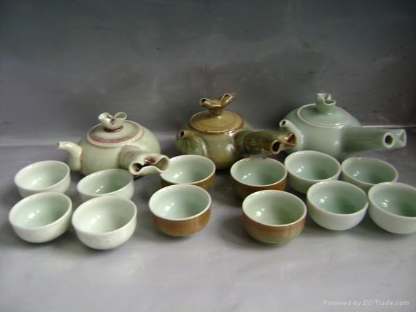 Fine china tea pot coffee set porcelain tableware 3