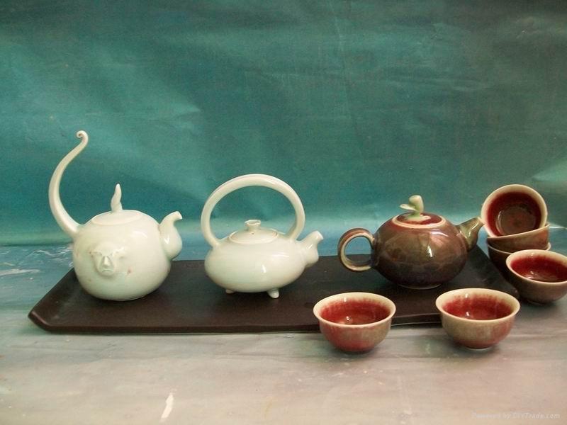 Fine china tea set coffee pot ceramic drinkeare gift 1