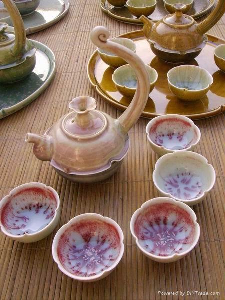 Fine china tea set coffee pot ceramic drinkeare gift 2