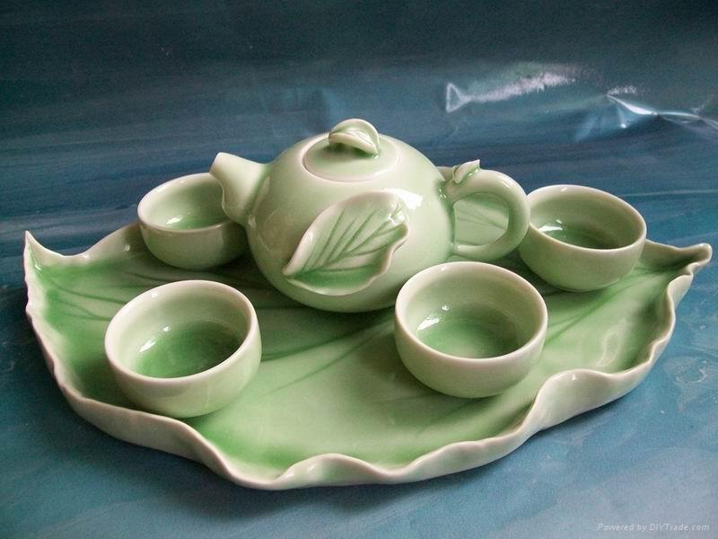 Fine china porcelain tea pot coffee pot gift 1
