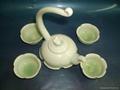 Fine china porcelain tea pot coffee pot gift 2
