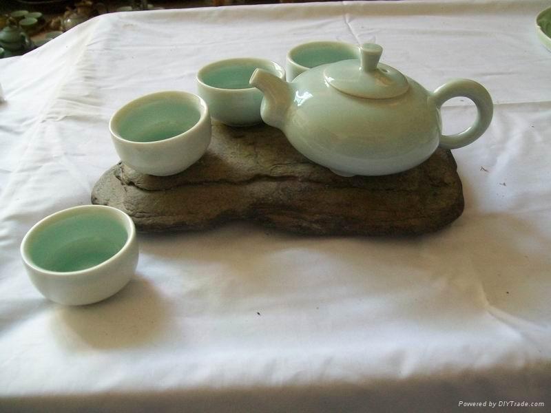 Fine china porcelain tea pot coffee pot gift 3