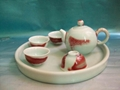 Fine china cermaic tea pot  porcelain tableware gift home supply 1