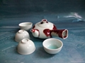 Fine china cermaic tea pot  porcelain tableware gift home supply 2