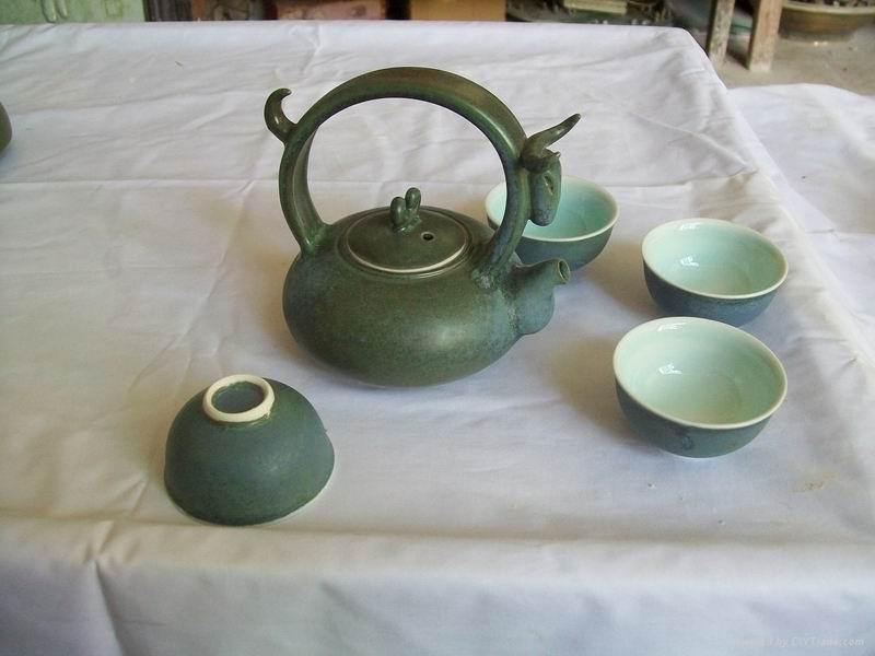 Fine china tea pot ceramic mug cup gift porcelain 4