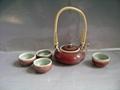 Fine china tea pot porcelain drinkware arts tableware gift 3