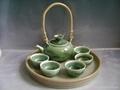 Fine china tea pot porcelain drinkware arts tableware gift 5
