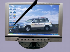 "7"" Headrest/Stand VGA Touch Screen Panel for Car PC"