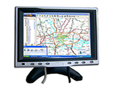 "8"" Stand VGA Touch Screen Panel for Car PC"