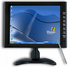 "10.4"" Stand VGA Touch Screen Panel for Car PC"
