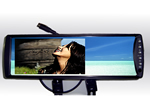 """6.2"""" Car Rearview Mirror Bluetooth Handsfree TFT-LCD monitor 1"""