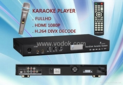 Full hd hard disk karaoke player ktv-868