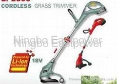 cordless grass trimmer & grass shear