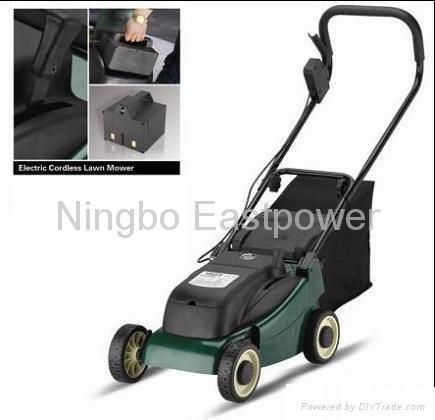 Cordless lawn mower 1