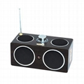 MK-4 Multi-function Mobile Speaker Digital FM Radio