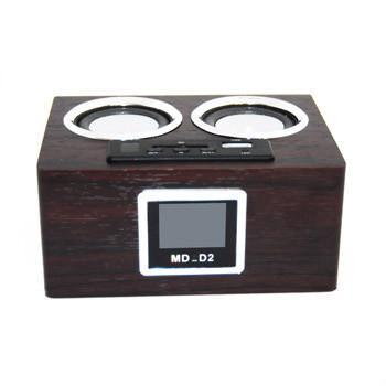 MD-11 Multi-function Mobile Speaker Digital FM Radio 4
