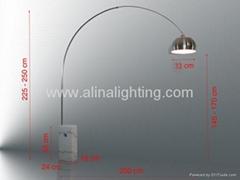 acro floor lamps