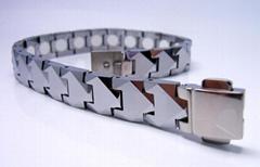 Tungsten magnetic bracelet