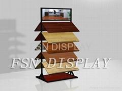 雙面式地板展架(FSN-SM)