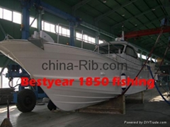 luxury fishing boat 46 foot