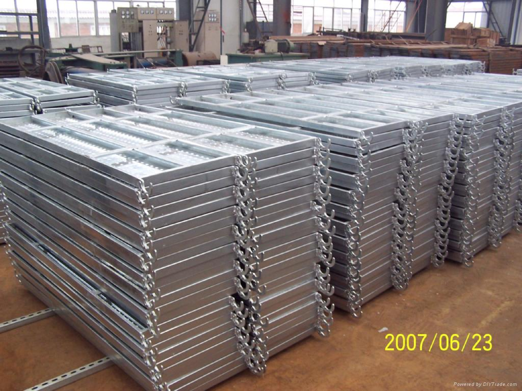 Scaffolding steel plank metal board deck product