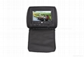 7''   Headrest DVD with touch screen/USB/SD/IR/FM transmitter and Game Function