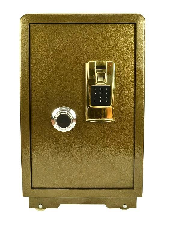 可电话报警指纹密码保险箱 1
