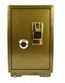 可电话报警指纹密码保险箱