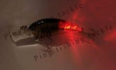 Flashing LED Fishing Lure with Hook (PFT0703)