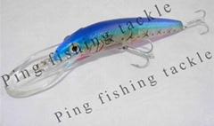 Flashing LED Fishing Lure with Hook (PFT0702)