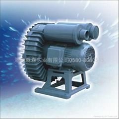 旋涡式充气增氧机