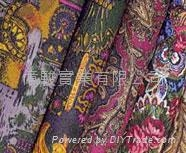 Printed Polyester 600D Fabric with PVC or PU Coating