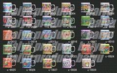 3D PVC promotional mug