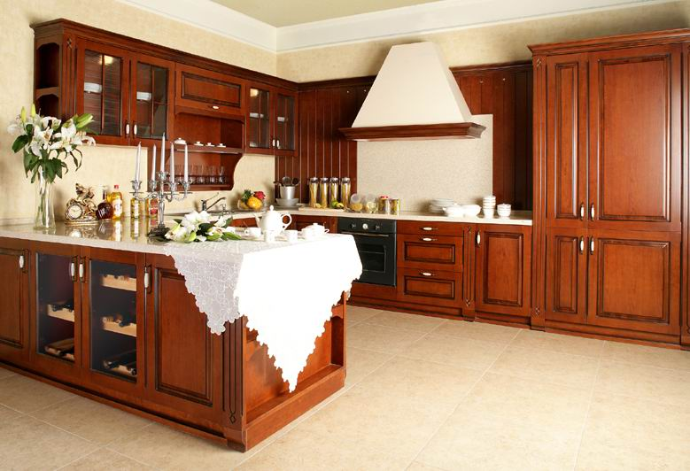 modern luxury wooden cabinets
